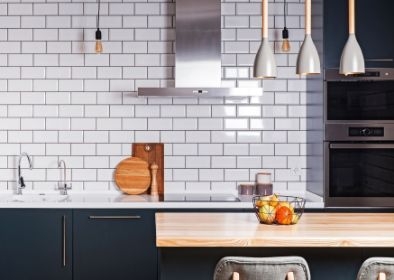 contemporary white kitchen tiling in toowoomba
