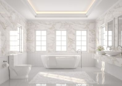 contemporary bathroom tiling in toowoomba